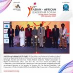 2nd Asian African Leadership Forum 2020 at The Grand, New Delhi held on 25th January 2020